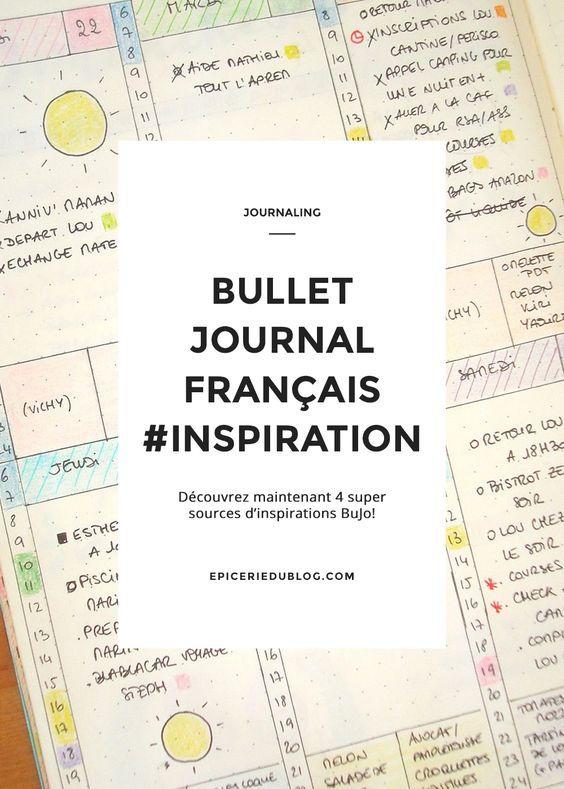 4 super sources d'inspiration pour votre #bulletjournal / #Bujo!                                                                                                                                                                                 Plus
