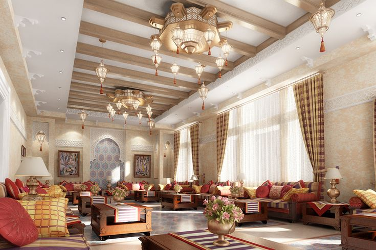 Marrakech Villa Majlis Interior Design Pinterest
