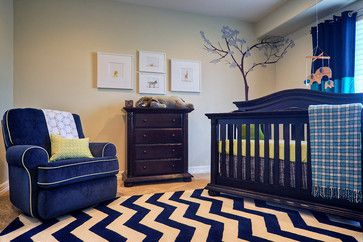 High Style Nursery - contemporary - kids - other metro - La Casa Azul Designs by Juaneice