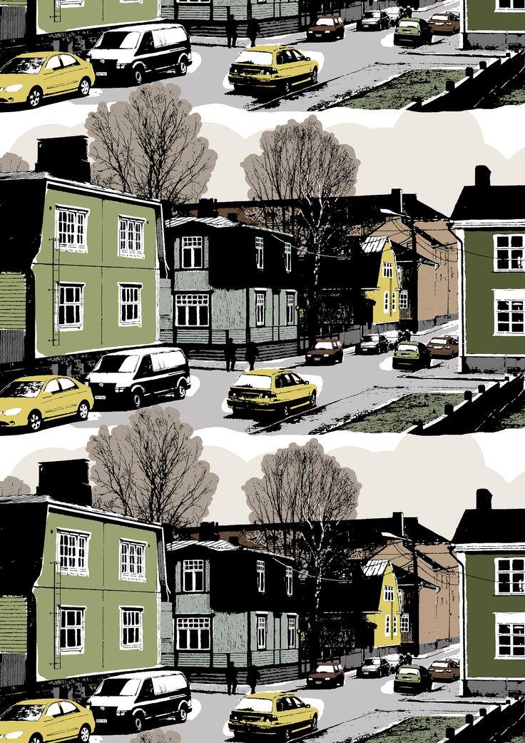Suvannontie (olive) - By Tanja Orsjoki