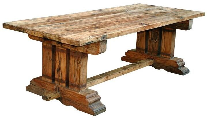39 best beautiful dining room tables and chairs images on for Reclaimed wood manufacturers