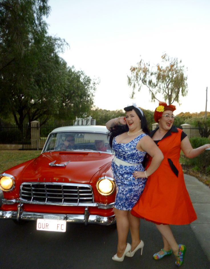 Miss Sapphire Sparkles & Miss Sarah at the Busselton Drive In,WA.