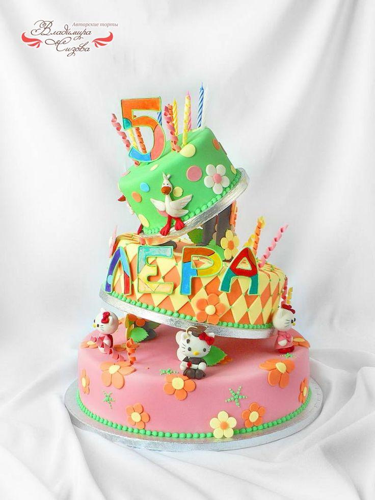 Детские торты на день рождения москва