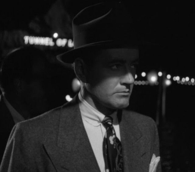 "Strangers on a Train (""Pacto Sinistro"", 1951). With Robert Walker. Film Noir."