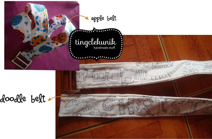 Doodle belt