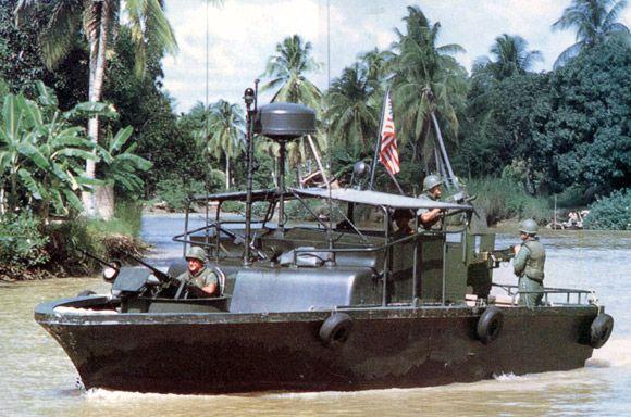 Vietnam era U.S. Navy PBR (Patrol Boat River)