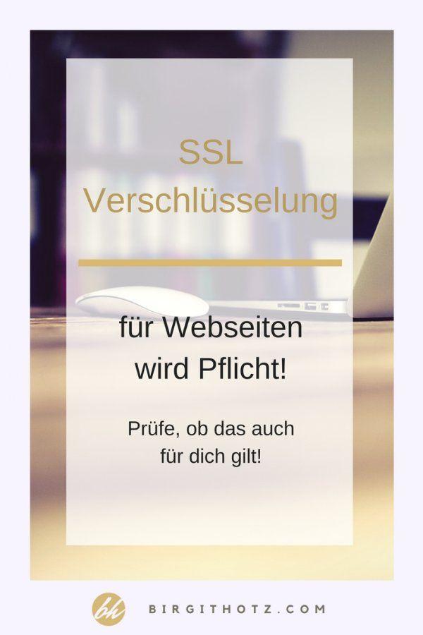 SSL Verschlüsselung für Webseiten wird Pflicht!