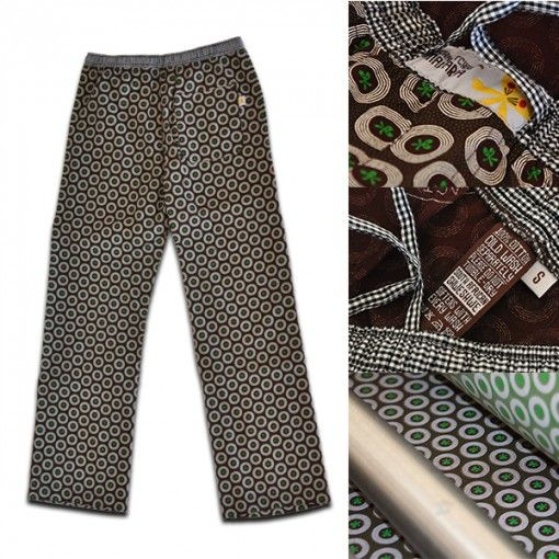 Perfect pants for all - boardroom to bar, and they are for a great cause - Goodbye Malaria http://www.goodbyemalaria.com/pyjama-pants.html