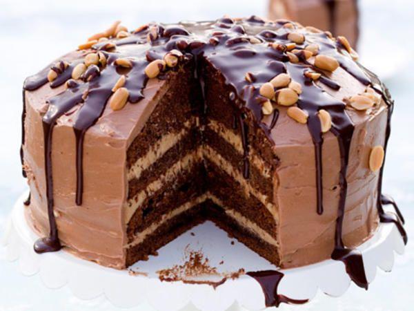 "Chokladtårta ""Snickers"""