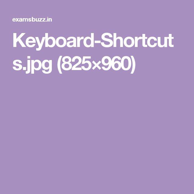 Keyboard-Shortcuts.jpg (825×960)