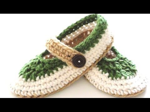 St. Patrick's Day Crochet Projects - St. Patty Slapper Crochet Slippers Video Tutorial