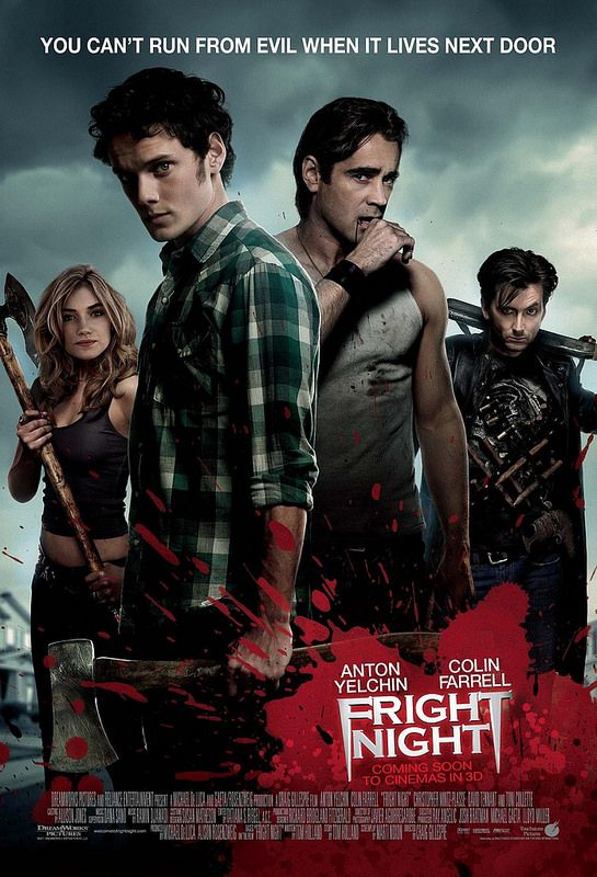 Fright Night (2011) Why does no one talk about this? Not only does it star the tremendously talented (and tragically departed) Anton Yelchin, but it has a Goth, eyeliner-wearing, vampire hunting David Tennant!