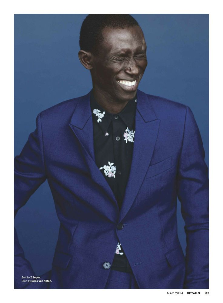 Blue note - Z Zegna suit on Details, May 2014 #fashion #editorials #magazine #menswear