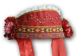 Russian head-dress Kichka - RusClothing.com (married women)- $29.75