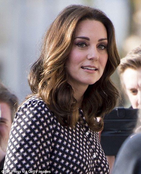 Kate, who has been sporting a shorter hairstyle in recent weeks, showcased her glossy lock...