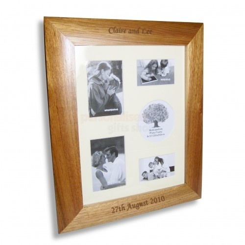 Personalised Oak Collage Frame  from Personalised Gifts Shop - ONLY £19.95