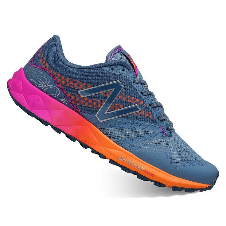 New Balance 690 v1 Women's Trail-Running Shoes, Size: 9.5 Wide, Silver