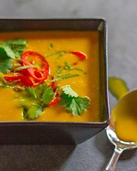 Thai Pumpkin Soup Recipe on Food & Wine