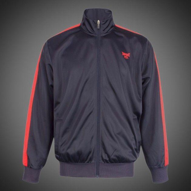 Lehká pánská bunda Tapout Classic navy na zip. Polyesterový materiál ... 1001ebf012