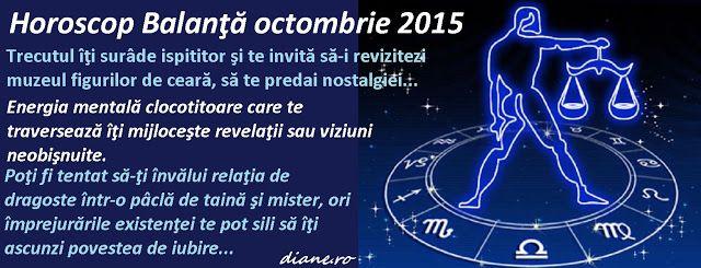 diane.ro: Horoscop Balanţă octombrie 2015