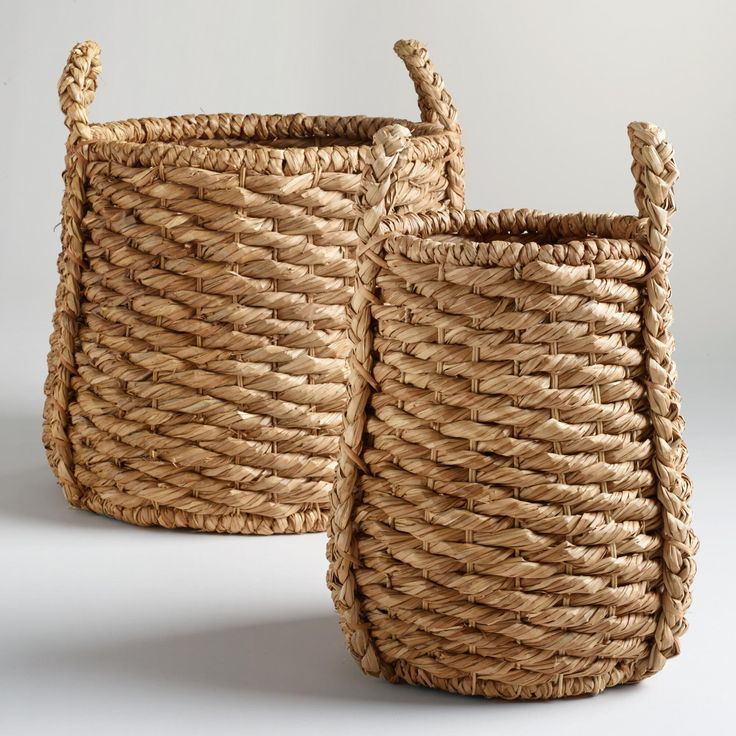 Wonderful Oversized Natural Carrie Tub Basket Collection