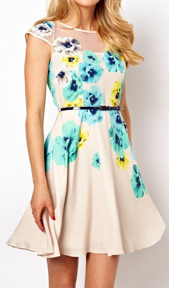 Floral dress - $74.90