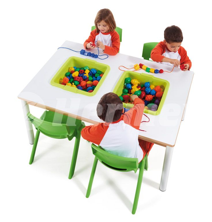 Mesa de actividades para escuelas