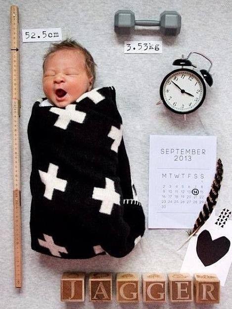 Cute geboortekaartje!