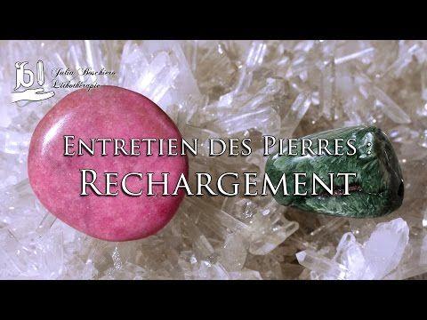 Entretien des pierres : Rechargement - YouTube