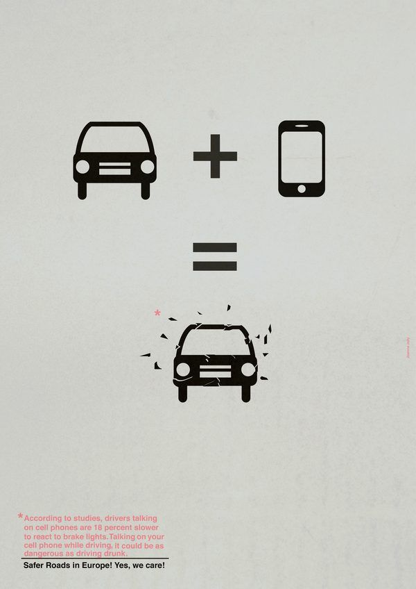 Road Safety Project by Joanna Jelly, via Behance
