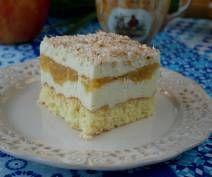 Ciasto jabłkowo – serowe