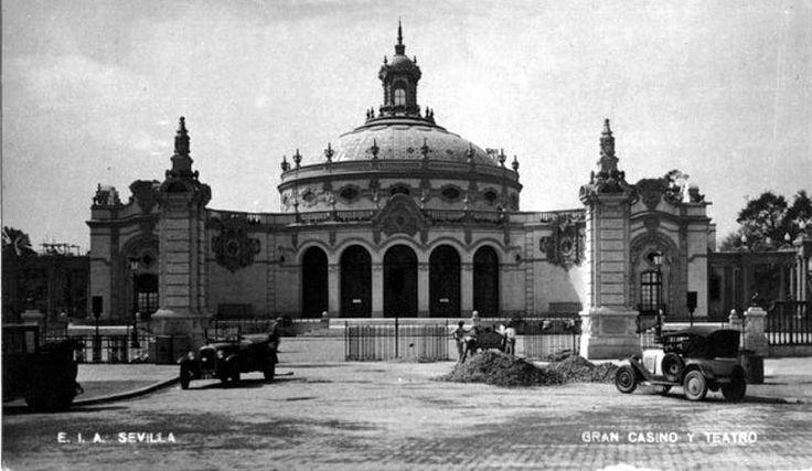 hace 86 años (1929), se inauguró el Pabellón de Sevilla de la Expo. Iberoamericana; hoy teatro Lope de Vega 💃💃💃