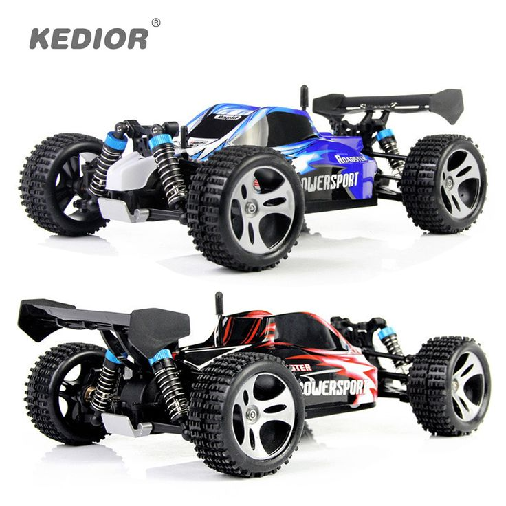 WLtoys A959 Electric Rc Car Nitro 1/18 2.4Ghz 4WD //Price: $94.49     #techie
