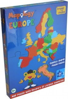 Puzzle EUROPE'S 32 Largest Countries, puzzle, Imagi