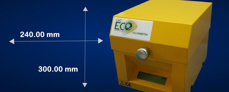 The ECO calorimeter has a small and compact design - DDS CALORIMETERS