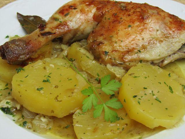 Pollo asado a la importancia cocina tradicional