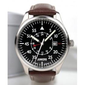 Reloj Junkers 6244-2 Cuarzo Cockpit negro y marrón