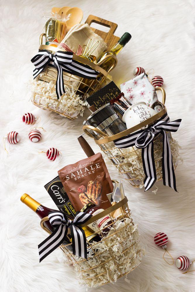 Holiday Gift Baskets - holiday gift baskets for every foodie in your life   littlebroken.com @littlebroken