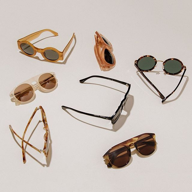 Welcoming sunglasses from Dries van Noten in collaboration with Linda Farrow to The Dreslyn