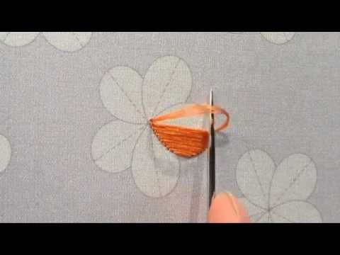 Japanese embroidery tutorial - 日本刺繍 紅会 通信講座『梅』