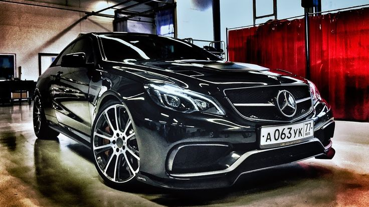 Mercedes E63 AMG Coupe 925 HP GAD Motors Review by AutoTopNL (English Su...