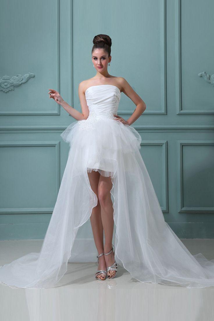 39 best Wedding Dress images on Pinterest | Short wedding gowns ...