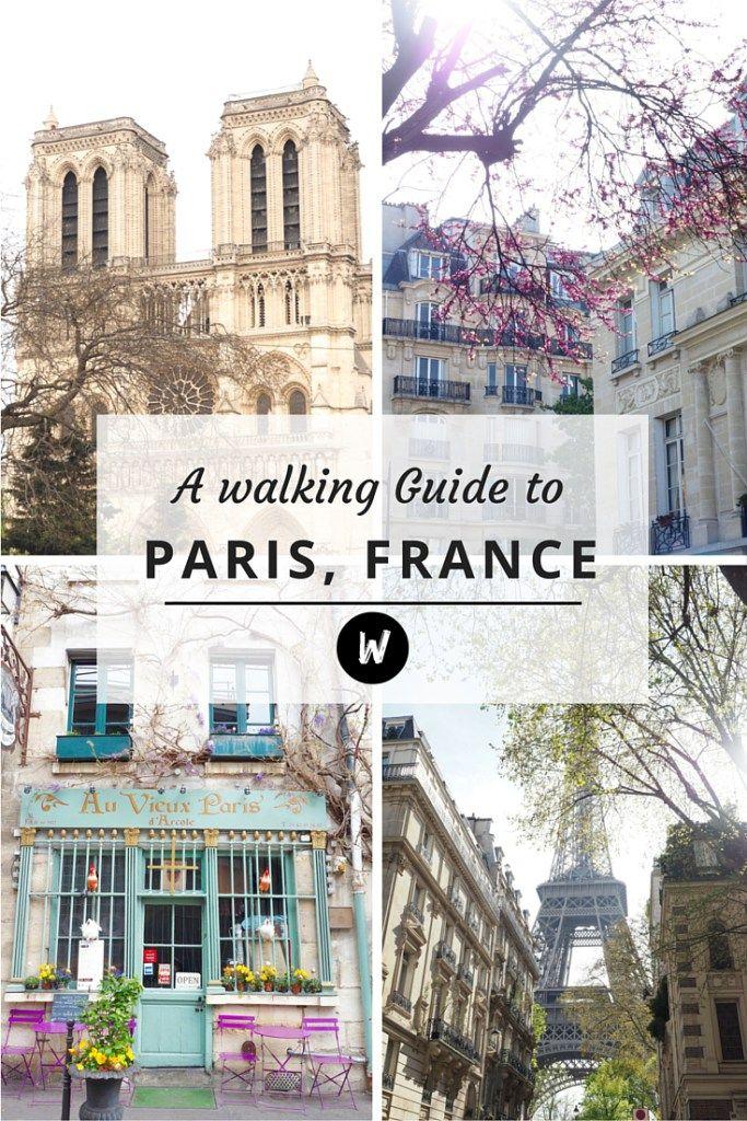 A walking guide to Paris
