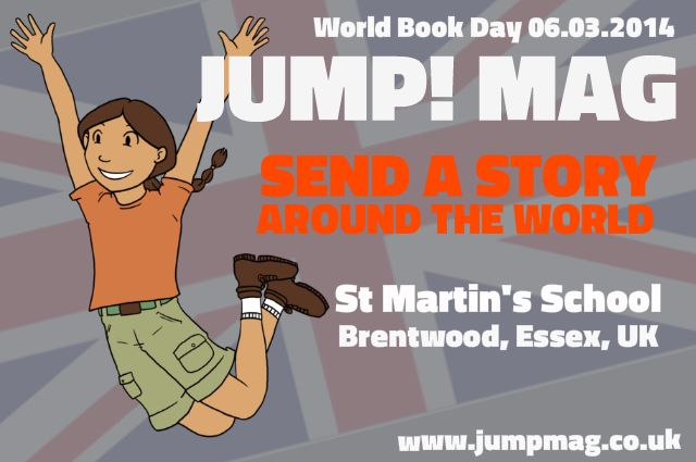 Chapter One - St Martin's School in Essex, UK have sent us this fabulous first chapter of our story.