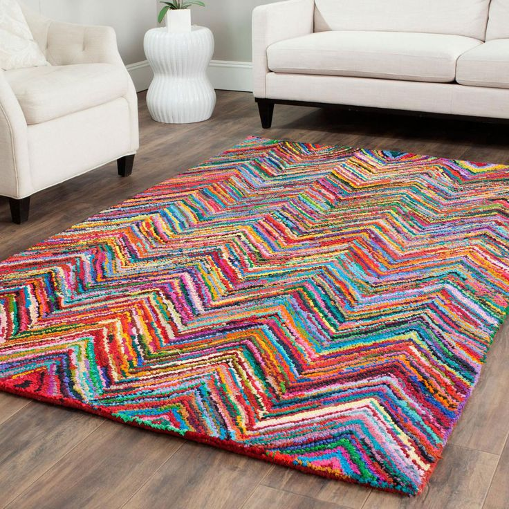 Rainbow Riot Rug - Living the Dream: Boho Escape Collection - Dot & Bo