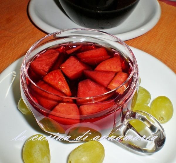Sangria, ricetta