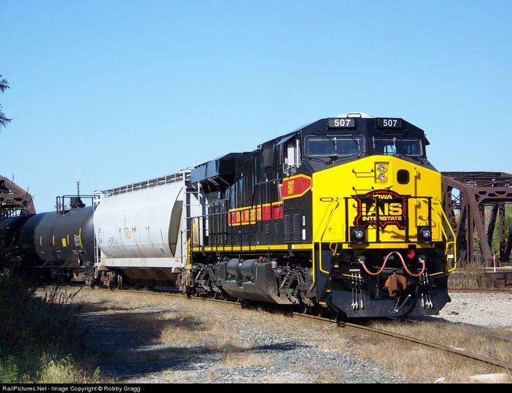 RailPictures.Net Photo: IAIS 507 Iowa Interstate Railroad GE ES44AC at Blue Island, Illinois by Robby Gragg