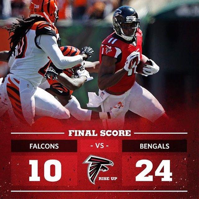 Atlanta Falcons Score Graphic 2014