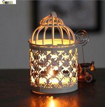 Umiwe rotondo di metallo marocchino porta candele votive candeliere lanterna appesa casa centrotavola con base (bianco, modello casuale)(China (Mainland))