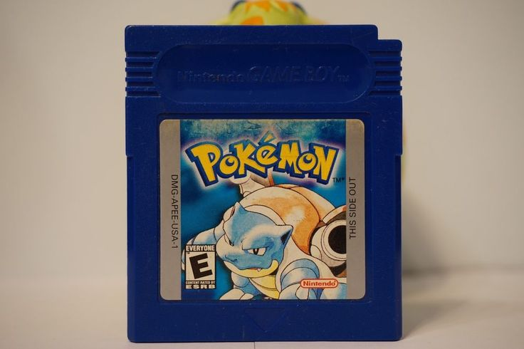 Pokemon Blue Version nintendo edition game boy color gbc English SAVE USA 5396